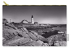Portland Head Light Carry-all Pouch by Elizabeth Dow