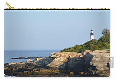 Portland Head Light In Summer Carry-all Pouch