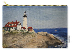Portland Head Lighthouse In Maine Carry-all Pouch