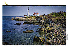 Portland Headlight 37 Oil Carry-all Pouch by Mark Myhaver