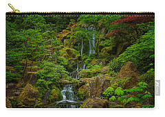 Portland Japanese Gardens Carry-all Pouch by Jacqui Boonstra