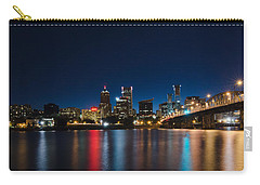 Portland Oregon Nightscape Carry-all Pouch