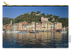 Carry-all Pouch featuring the photograph Portofino by Antonio Scarpi
