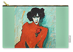 Portrait Alexander Sakharoff Carry-all Pouch by Pg Reproductions