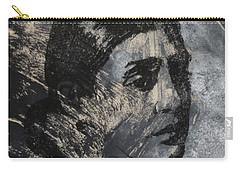 Portrait Monoprint Carry-all Pouch