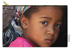 Portrait Of A Berber Girl Carry-all Pouch