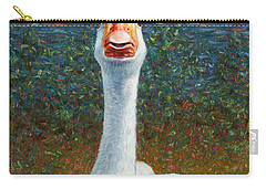 Portrait Of A Goose Carry-all Pouch