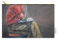 Portrait Of Ali Akrei - The Painter Carry-all Pouch