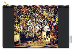 Portrait Of Autumn Carry-all Pouch