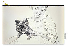 Portrait Of Sylwia Carry-all Pouch