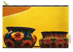 Portrait Of Taos Carry-all Pouch
