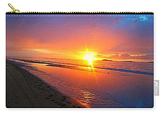 Portrush Sunset Carry-all Pouch