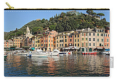 Carry-all Pouch featuring the photograph Porttofino - Italy by Antonio Scarpi