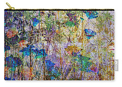 Posies In The Grass Carry-all Pouch