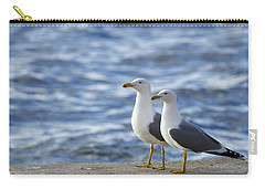 Posing Seagulls Carry-all Pouch