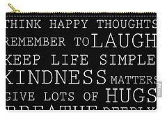 Positive Words Carry-all Pouch