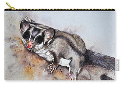 Possum Cute Sugar Glider Carry-all Pouch by Sandra Phryce-Jones