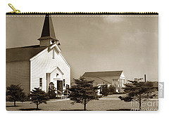 Post Chapel And Red Cross Building Fort Ord Army Base California 1950 Carry-all Pouch