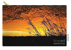 Carry-all Pouch featuring the photograph Post Hurricane Rita At Dockside In Beaumont Texas Usa by Michael Hoard