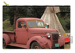Carry-all Pouch featuring the photograph Postcard From Yesterday by Lynn Sprowl