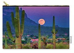 Postcard Perfect Arizona Carry-all Pouch