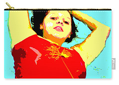 Poster Girl 2 Carry-all Pouch by Randi Grace Nilsberg
