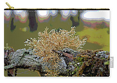 Posterized Antler Lichen Carry-all Pouch