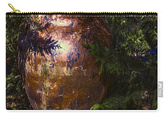 Carry-all Pouch featuring the photograph Potters Clay by Jean OKeeffe Macro Abundance Art