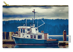 Poulsbo Waterfront 03 Carry-all Pouch by Wally Hampton