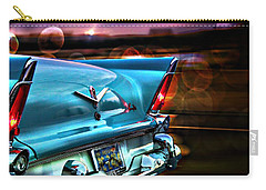Classic Cars Carry-all Pouch featuring the photograph Powerflite by Aaron Berg
