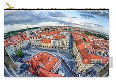 Prague From Above Carry-all Pouch