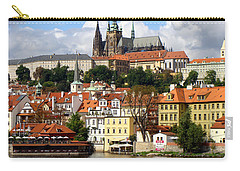 Carry-all Pouch featuring the photograph Prague Skyline by Ira Shander