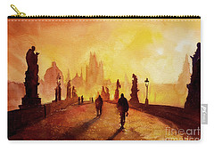 Prague Sunrise Carry-all Pouch