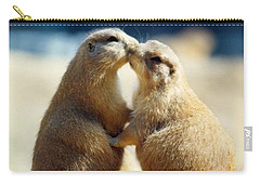 Prairie Dogs Kissing Carry-all Pouch