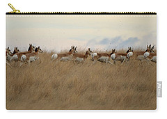 Prairie Pronghorns Carry-all Pouch