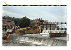 Prattville Dam Prattville Alabama Carry-all Pouch by Charles Beeler
