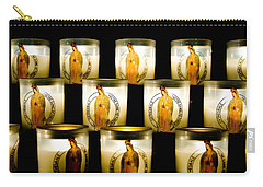 Prayer Candles In Notre Dame Carry-all Pouch
