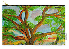 Prayer Mountain Tree Carry-all Pouch