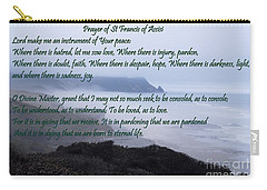 Prayer Of St Francis Of Assisi Carry-all Pouch