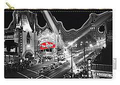 Carry-all Pouch featuring the photograph Premier Of The Robe 1953 Grauman's Chinese Theater Los Angeles Ca 1953-2012 by David Lee Guss