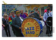 New Orleans Jazz Band  Carry-all Pouch by Luana K Perez