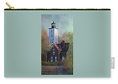 Presque Isle Lighthouse Carry-all Pouch