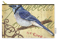 Pretty Bird 4 Carry-all Pouch by Debbie DeWitt