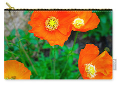 Pretty In Orange Carry-all Pouch