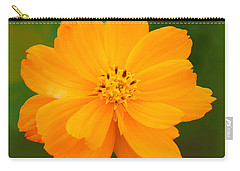 Carry-all Pouch featuring the photograph Pretty In Orange by Mariarosa Rockefeller