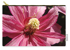 Carry-all Pouch featuring the photograph Pretty In Pink by Cheryl Hoyle