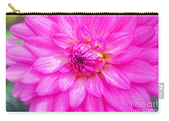 Pretty In Pink Dahlia Carry-all Pouch