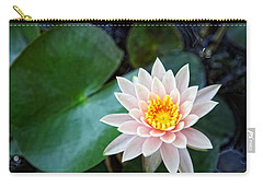 Pretty In Pink Carry-all Pouch by Dave Files