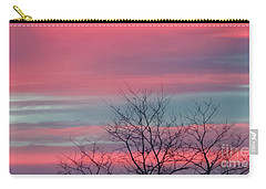 Pretty In Pink Sunrise Carry-all Pouch