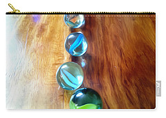 Pretty Marbles All In A Row Carry-all Pouch